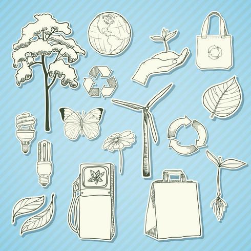 Ekologi och miljömärkning vit