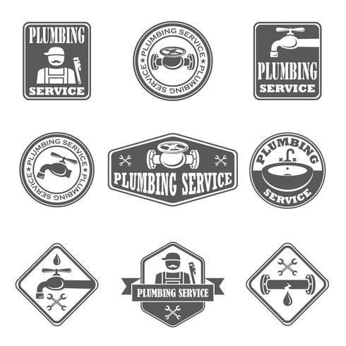 Insignes de service de plomberie