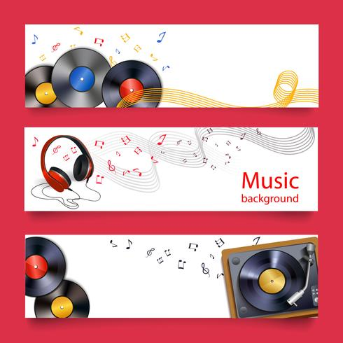 Vinyl Rekordmusik Banner