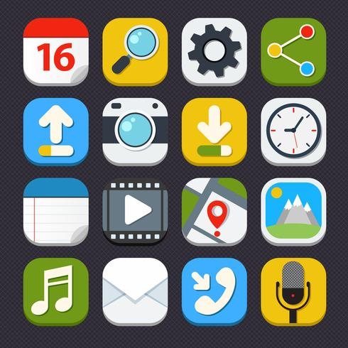 Mobile Applications Ikoner