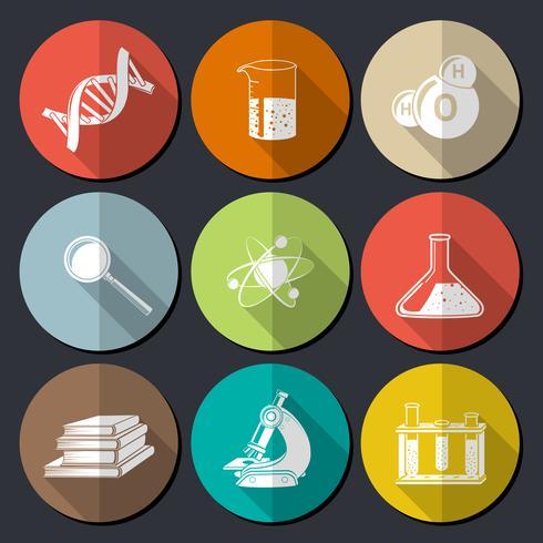 Science Symbols Flat