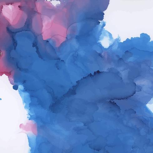 Färgrik bläck vattenfärg texturerad bakgrund