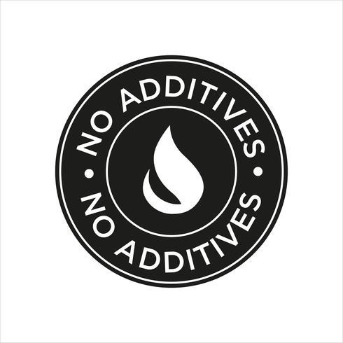 Icône Aucun additif