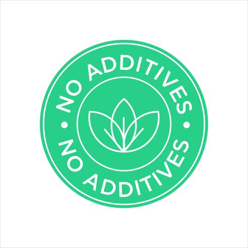 No hay icono de aditivos.