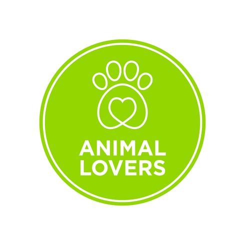 Icono de los amantes de los animales.