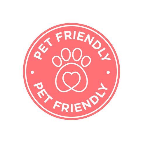 Pet friendly icon.