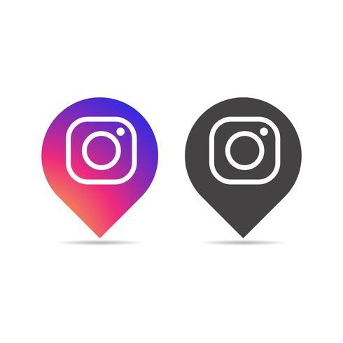 Concepto de icono de Instagram