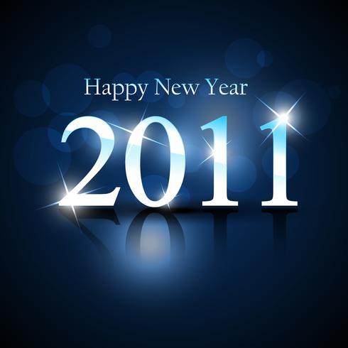 glänsande nytt år vektor