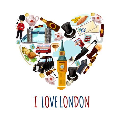 Cartaz turístico de Londres