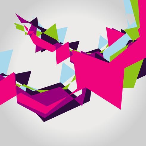 design coloré abstrait