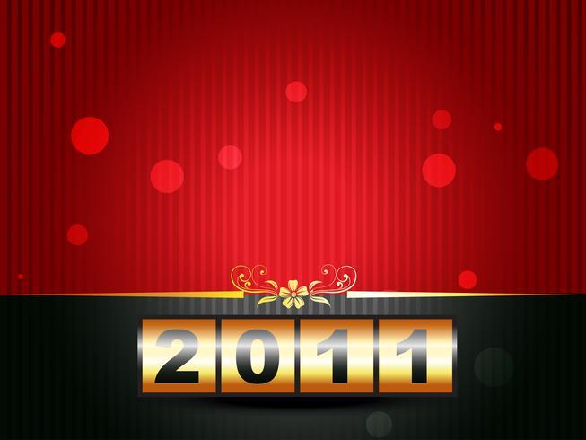 vackert gott nytt år vektor