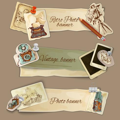 Paper Photo Banners