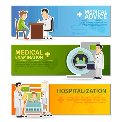 Medicinsk bannersats