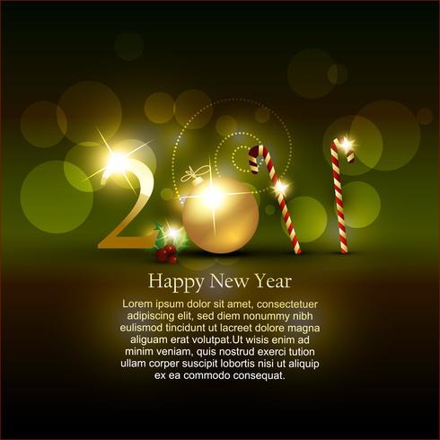 design del nuovo anno