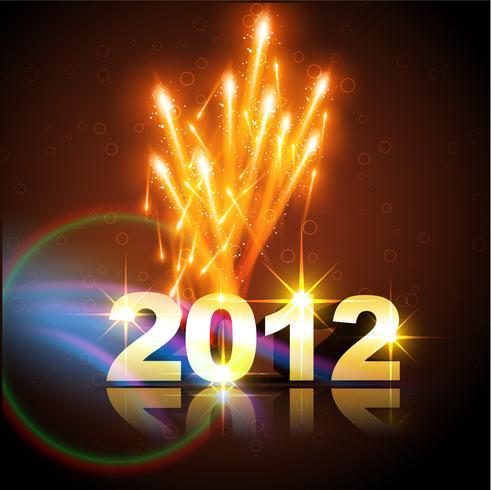 feliz año nuevo vector