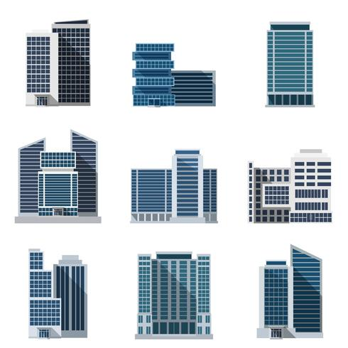 Office Buildings Set