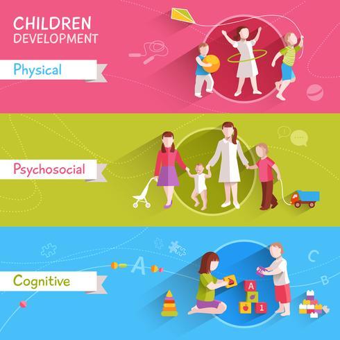Set di banner per bambini