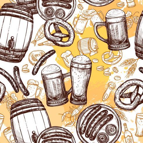 Öl sömlösa mönster vektor