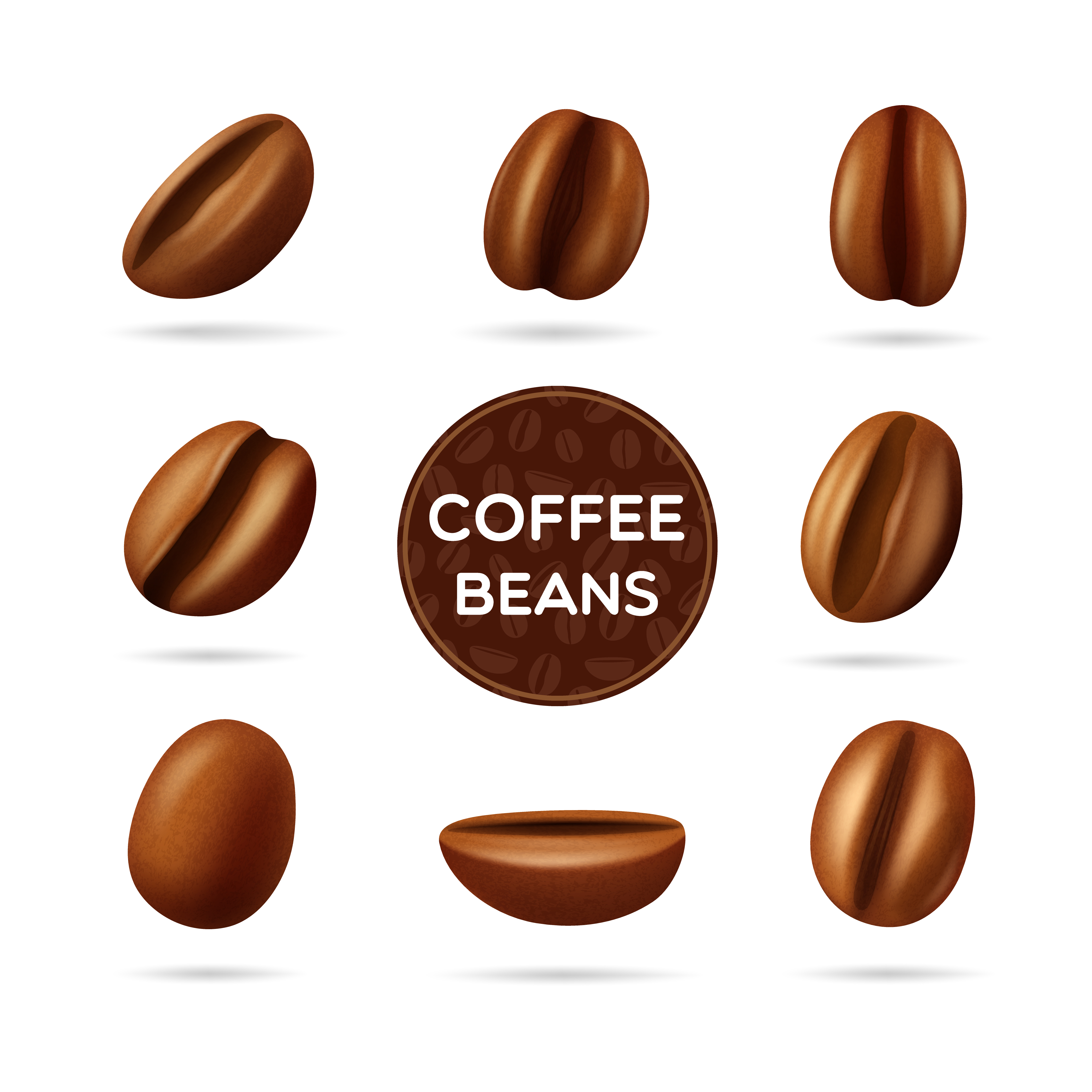 Organic Coffee Logo Collection: Download Free Vectors, Clipart