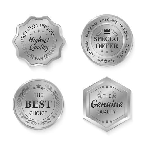 silver metall märken