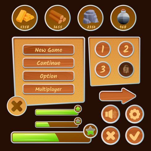 Ressourcensymbole für Spiele
