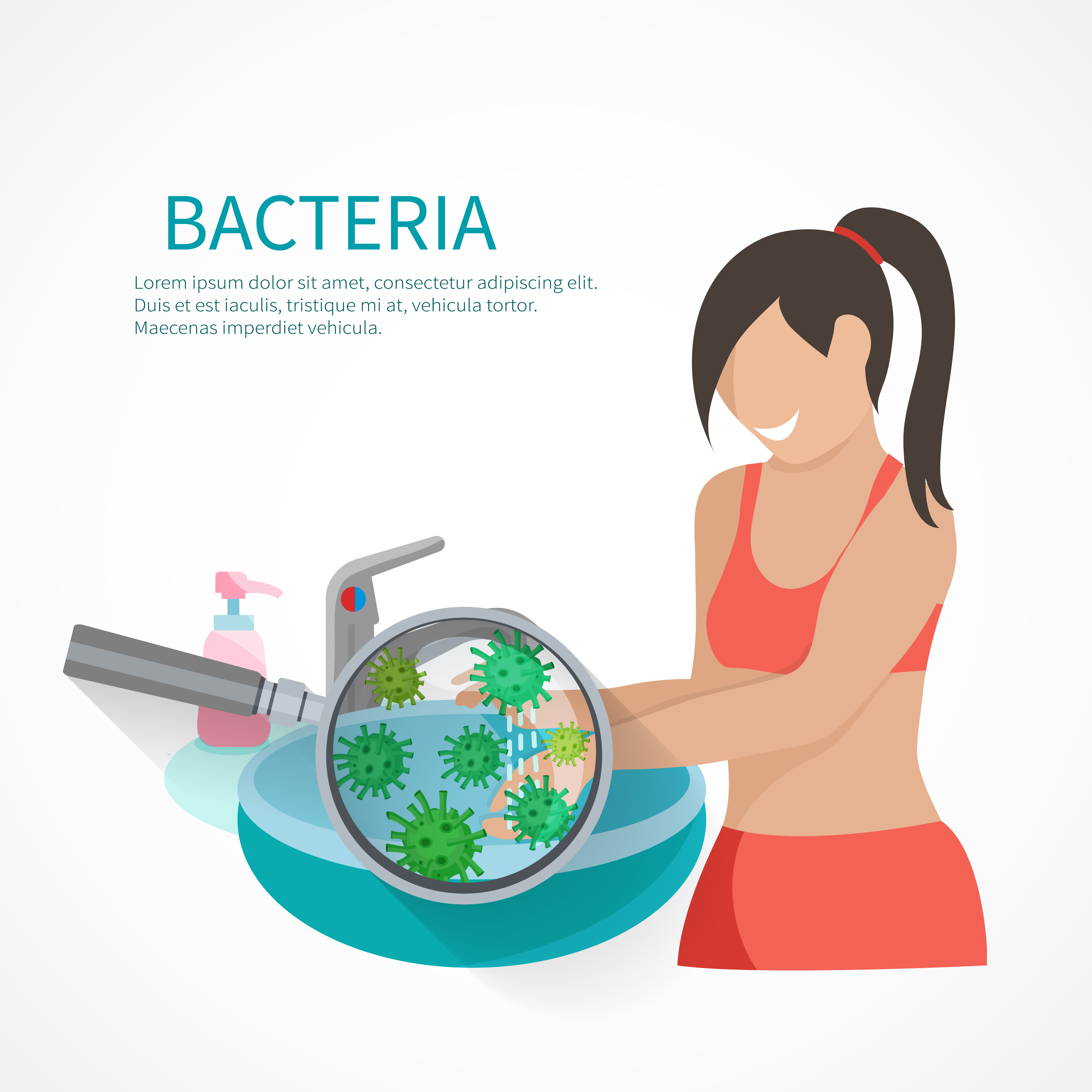 Hygiene Concept Flat 462294