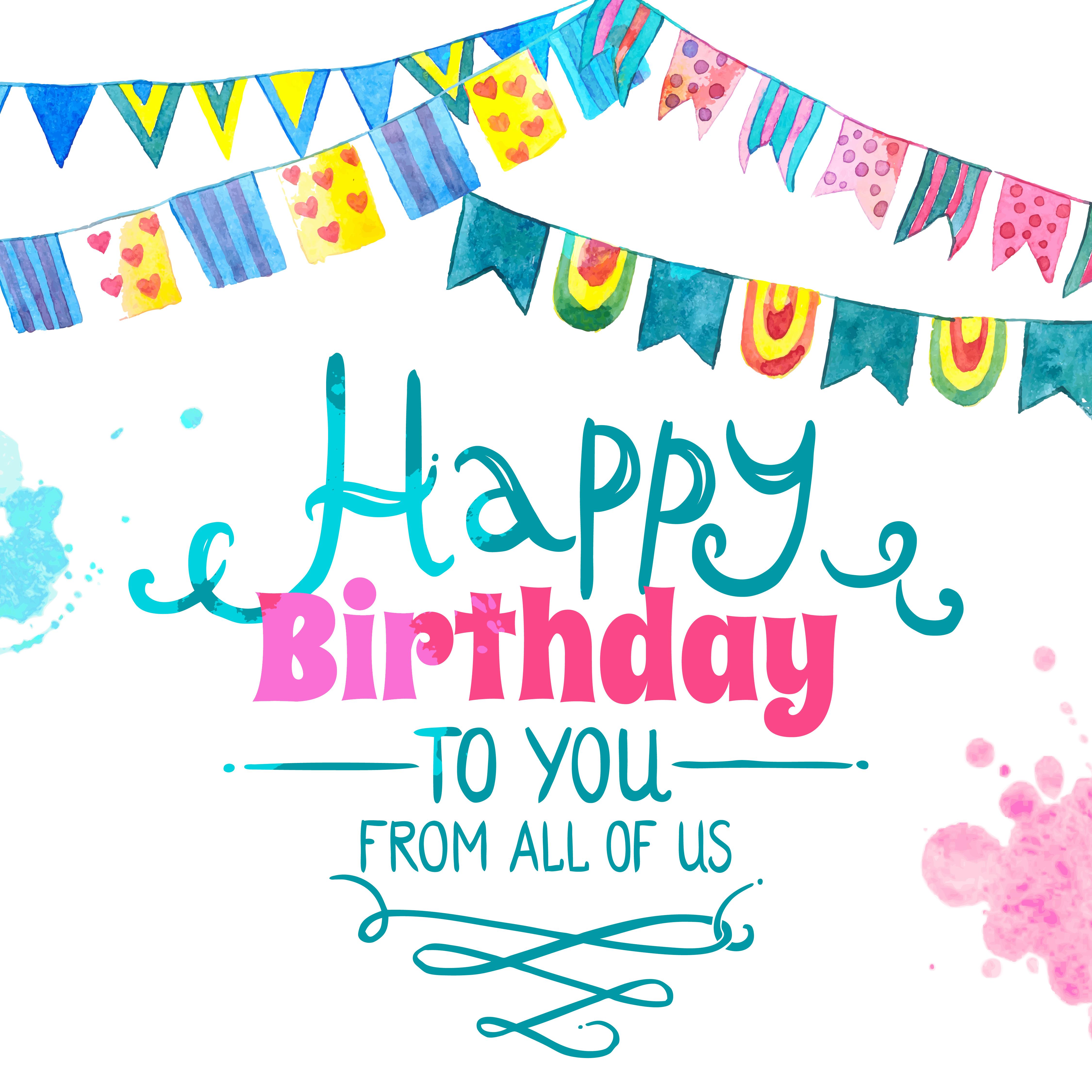 happy birthday card  download free vectors clipart
