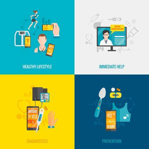 digitale gezondheidsflat