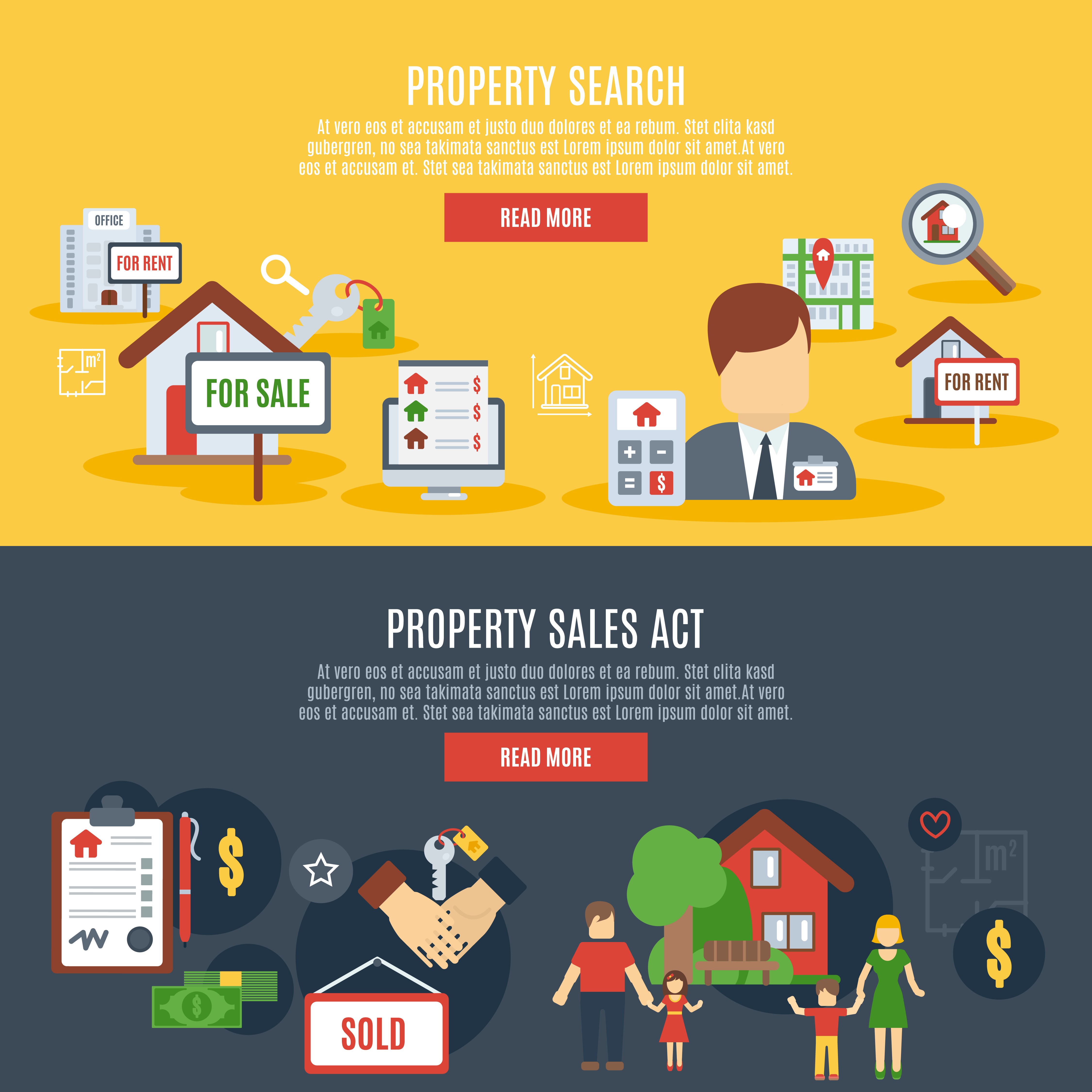 Real Estate Banner Download Free Vectors Clipart Graphics Vector Art
