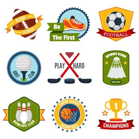 Sport Logo Set vektor