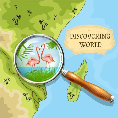 Welthintergrund entdecken