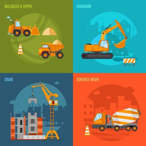 Conjunto de conceito de construção