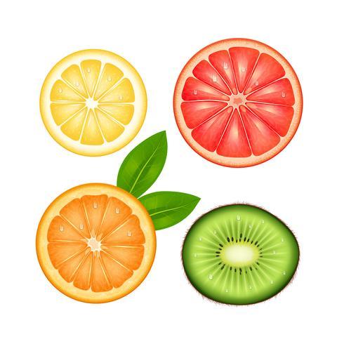 Set superiore di frutta