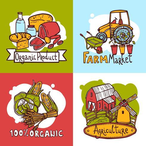 Concept de design agricole