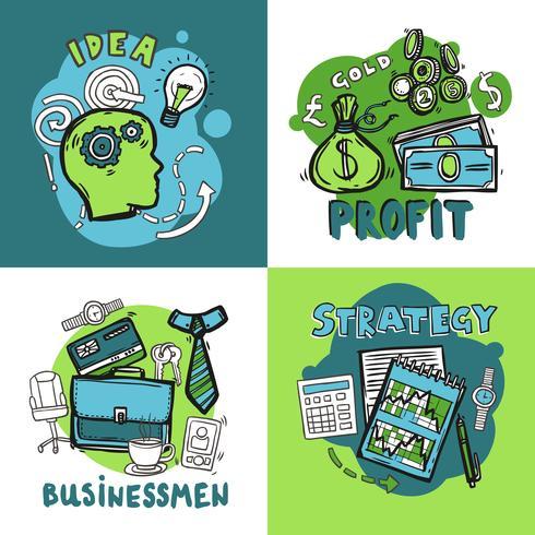Conceito de design de negócios