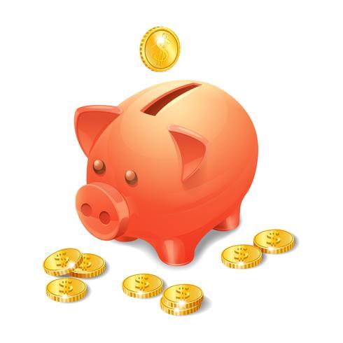 Piggy Bank realistico