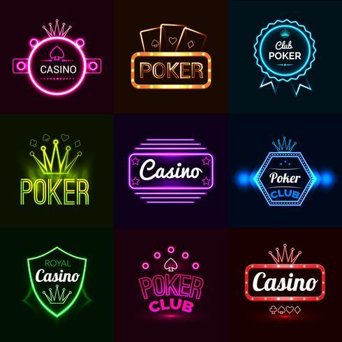 Emblemas de Neon Casino