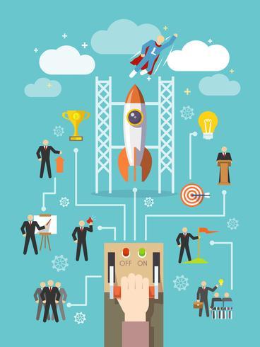Business Leiderschap Concept