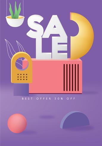Sale Poster Vector Design