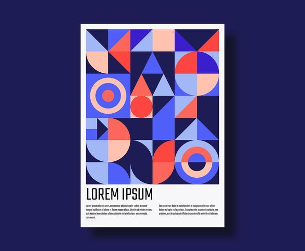 Geometrisch posterontwerp