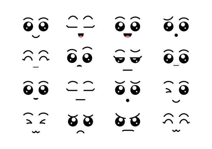 Ojos de dibujos animados