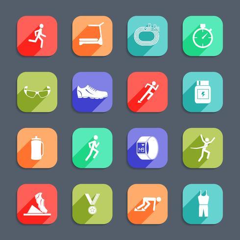 Iconos de ejecución plana