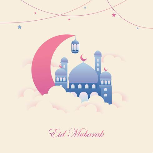 Eid Mubarak Illustratie