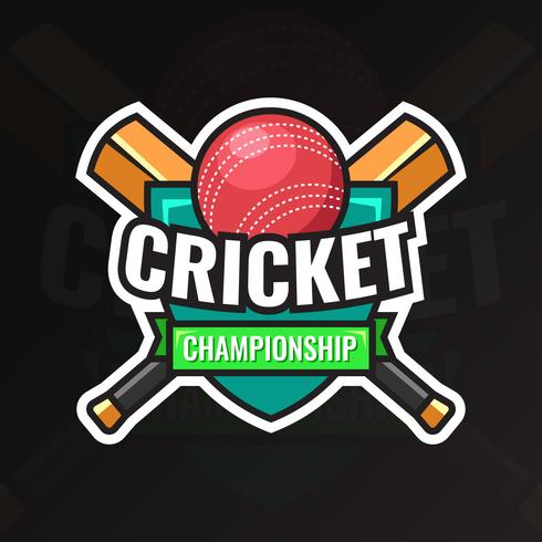 cricket mästerskap badge