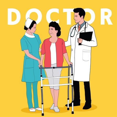 Doctor Services vector