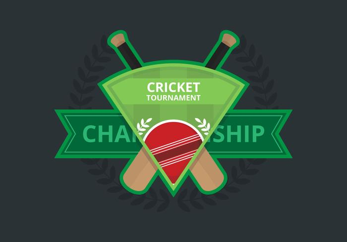 Illustration du logo de cricket