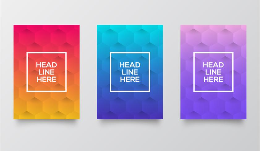 Gradient template collection