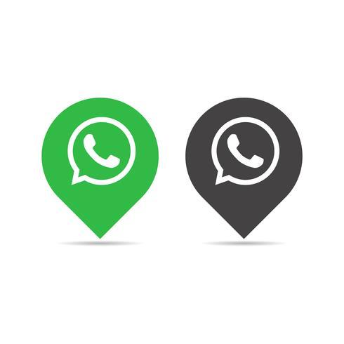 Whatsapp-Icon-Konzept