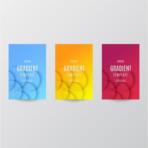Gradient-sjabloonverzameling