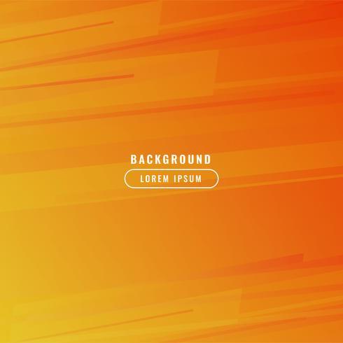 Orange business background vector